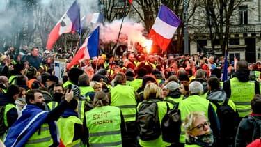 Des gilets jaunes mobilisés samedi 5 janvier à Lille