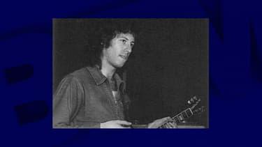 Le guitariste Peter Green