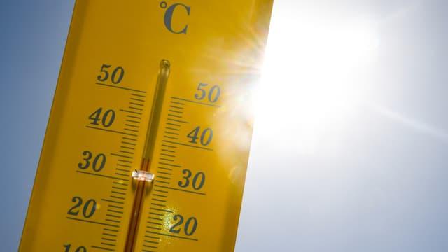 Un thermomètre (photo d'illustration)