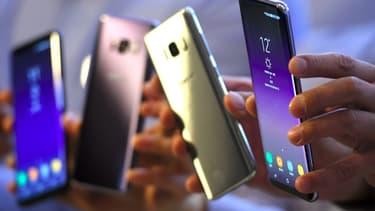 Le point de saturation du marché des smartphones a été atteint en 2016.