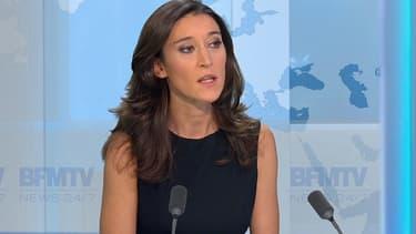 """Nathalie Schuck, journaliste politique au Parisien et co-auteur du livre """"Ca reste entre nous, hein?"""", sur BFMTV, le 6 novembre 2014."""