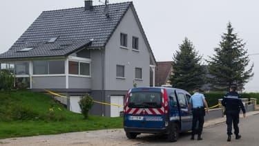 C'est dans cette maison de Moerbach que s'est déroulé le drame.