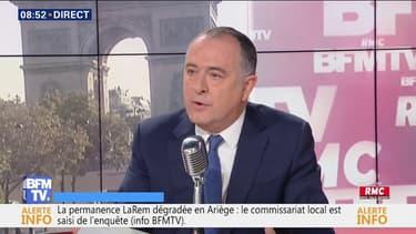 """Pour Didier Guillaume, François de Rugy """"a montré sa grandeur d'âme"""" en démissionnant"""