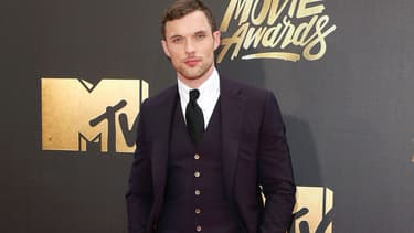 L'acteur Ed Skrein en avril 2016