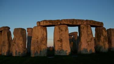 Le site mégalithique de Stonehenge situé au Sud de l'Angleterre, à Salisbury.