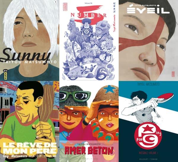 Des mangas de Taiyô Matsumoto