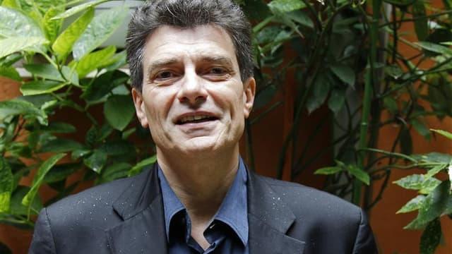 Le secrétaire national d'Europe Ecologie-Les Verts (EELV) Pascal Durand s'est dit satisfait, samedi sur France Inter, du discours prononcé la veille par le président François Hollande en ouverture de la Conférence environnementale. /Photo prise le 11 juil