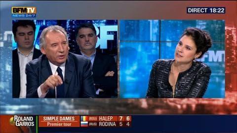 """François Bayrou dans BFM Politique: """"Les trois années de François Hollande se résument à une déception"""""""