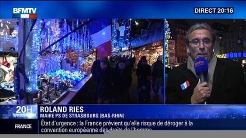 """Attentats: """"Je ne regrette pas d'avoir organisé un marché de noël adapté au contexte actuel"""", Roland Ries"""