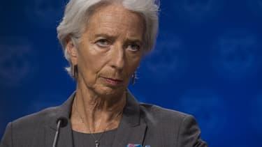 Christine Lagarde, future présidente de la Banque centrale européenne