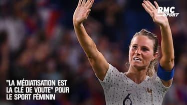 """""""La médiatisation est la clé de voute"""" pour le sport féminin affirme Nathalie Sonnac"""