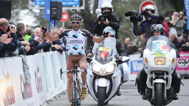Péraud, vainqueur du Critérium international