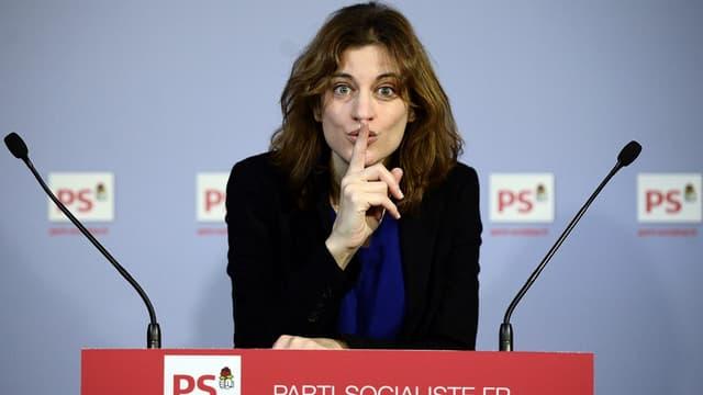 Juliette Méadel, l'ancienne porte-parole du PS et nouvelle secrétaire d'Etat chargée de l'aide aux victimes