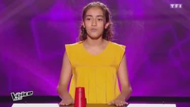 """Betyssam dans """"The Voice Kids"""", le 26 août 2017"""