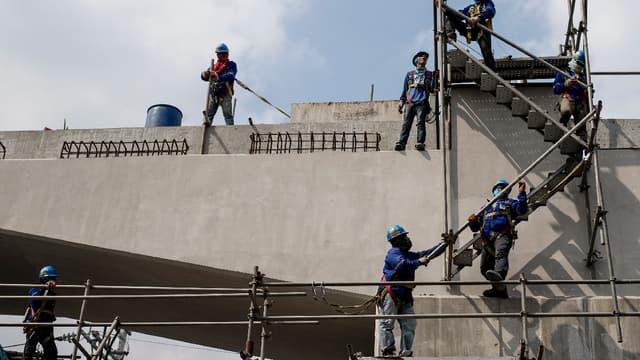 La Chine va envoyer 6.000 ouvriers en Israël pour répondre à une pénurie de main d'œuvre dans le secteur du BTP. (image d'illustration)