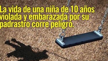 La campagne lancée par Amnesty International pour dénoncer le cas d'une fillette de 10 ans violée par son beau-père et à qui le ministre de la Santé du Paraguay refuse un avortement.