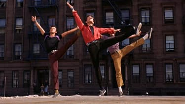 George Chakiris dans West Side Story, de Jerome Robbins et Robert Wise.