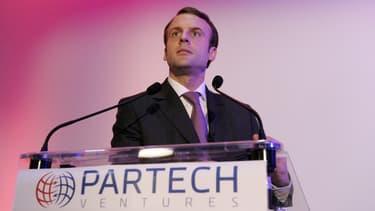 Partech Ventures multiplie les initiatives pour aider au décollage des start-up, avec la bénédiction des pouvoirs publics. Emmanuel Macron était venu, en décembre 2014, inaugurer son incubateur parisien, Partech Shaker.