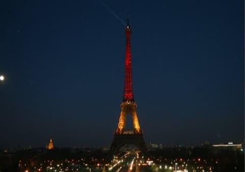 Des monuments du monde entier aux couleurs de la Belgique