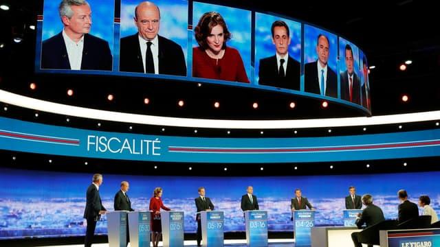 Certaines mesures des candidats à la primaire de la droite et du centre passent mal dans l'opinion.