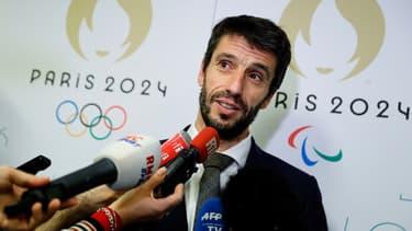 Tony Estanguet, président du comité d'organisation de Paris 2024
