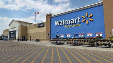 Walmart fait office de valeur refuge en plein krach boursier