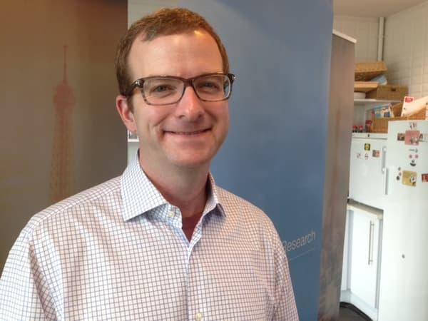 Mike Schoepfer, CTO (chief Technical officer) du FAIR, a présenté à Paris l'équipe qui pilotera l'équipe européenne de recherche.