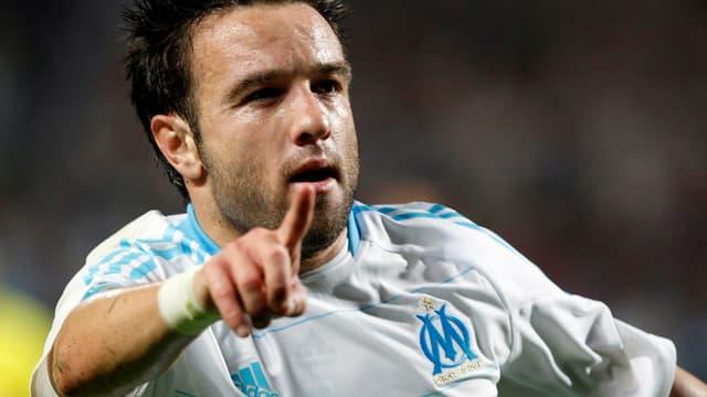 Mathieu Valbuena, buteur contre le Bétis