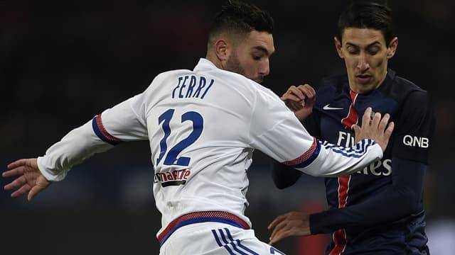 Jordan Ferri et Angel Di Maria se retrouveront en Coupe de la Ligue