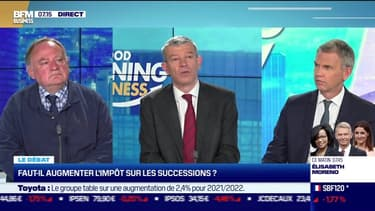 Le débat : Faut-il augmenter l'impôt sur les successions ?, par Jean-Marc Daniel et Nicolas Doze - 12/05