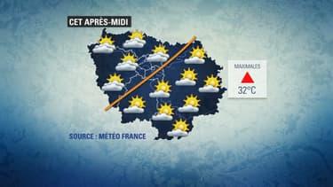 Les températures seront caniculaires ce mardi en Ile-de-France.