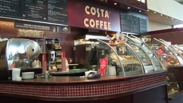 Costa Coffee ouvre sa première boutique en France, à la Gare de Lyon à Paris