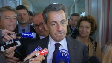 Nicolas Sarkozy ce vendredi à Belfort.