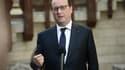 """François Hollande estime que le patronat doit """"prendre ses responsabilités""""."""