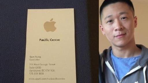 Sam Sung espère aider les enfants malades avec l'argent de la vente.