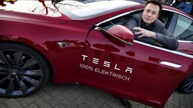 """""""J'imagine, une voiture compacte, peut-être une cinq portes"""", a déclaré Elon Musk, patron de Tesla"""