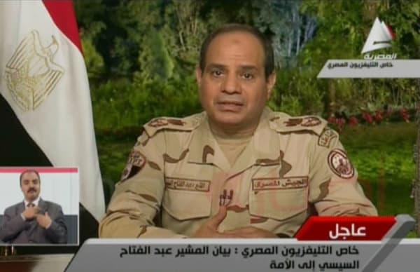 Le maréchal Abdel Fattah al-Sissi, futur président de l'Egypte, en 2013