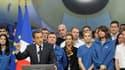 Lors d'un déplacement au site Airbus de Blagnac pour ses voeux au monde économique, Nicolas Sarkozy a appelé à une plus grande intégration économique européenne et réaffirmé la priorité donnée à la réduction des déficits ainsi qu'à l'amélioration de la co
