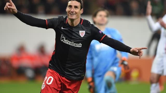 Aritz Aduriz, l'attaquant de l'Athletic Bilbao