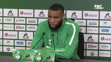 """Saint-Étienne : """"On se sent humiliés"""", les mots forts de Moukoudi après la vidéo raciste visant Bouanga"""