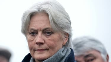 Penelope Fillon à Sable-sur-Sarthe, le 11 décembre 2016