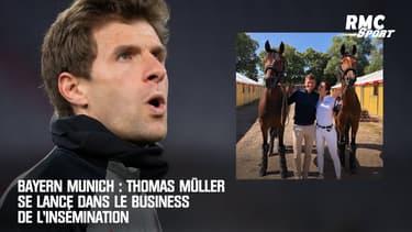 Bayern Munich : Thomas Müller se lance dans le business de l'insémination