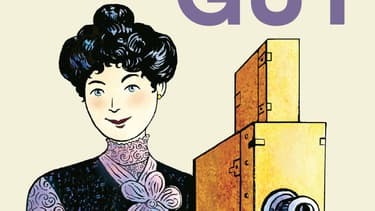 La réalisatrice Alice Guy dessinée par Catel