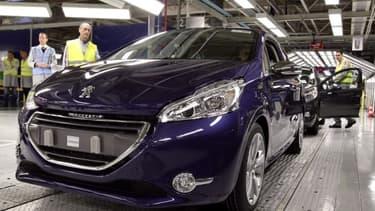 La Peugeot 208, voiture la plus vendue à Paris en 2018