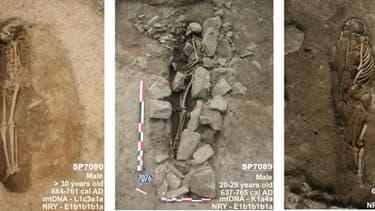 Les tombes ont été découvertes lors de travaux de construction d'un parking, à Nîmes.