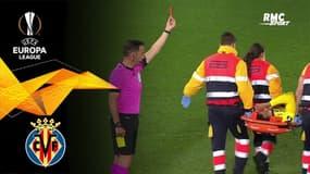 Villarreal - Arsenal : L'expulsion de Capoue... alors qu'il est sur civière