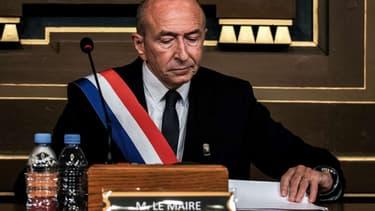 Gérard Collomb a reçu le soutien de quatre députés LaREM.