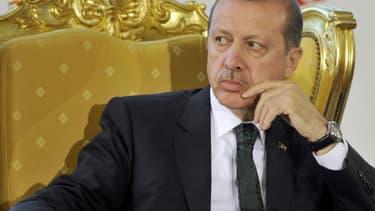 Recep Tayyip Erdogan à Tunis, le 6 juin 2013.