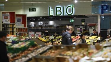 La grande distribution a fortement développé ses linéaires et gammes bio en marque de distributeur comme en marque nationale.