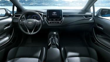 A l'intérieur des futures du Toyota, un parfum qui vous veut du bien... ou un gaz lacrymogène pour faire fuir les voleurs.